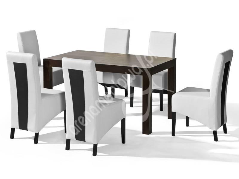 Stół Rozkładany Jakub Krzesła Chair 6 Zestaw Mebli Do Jadalni